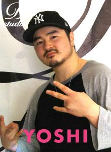 YOSHI(D STUDIOインストラクター)